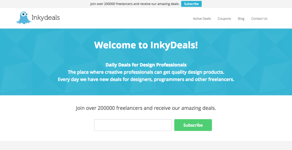 A Preview of The New InkyDeals