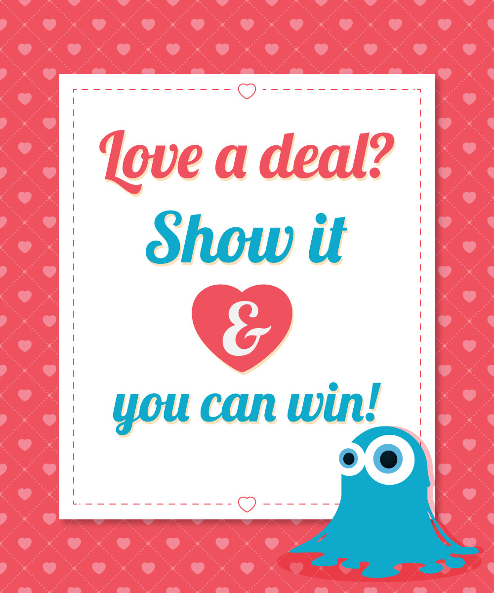 Share Your Love of Inkydeals and Win Your Favourite Deal