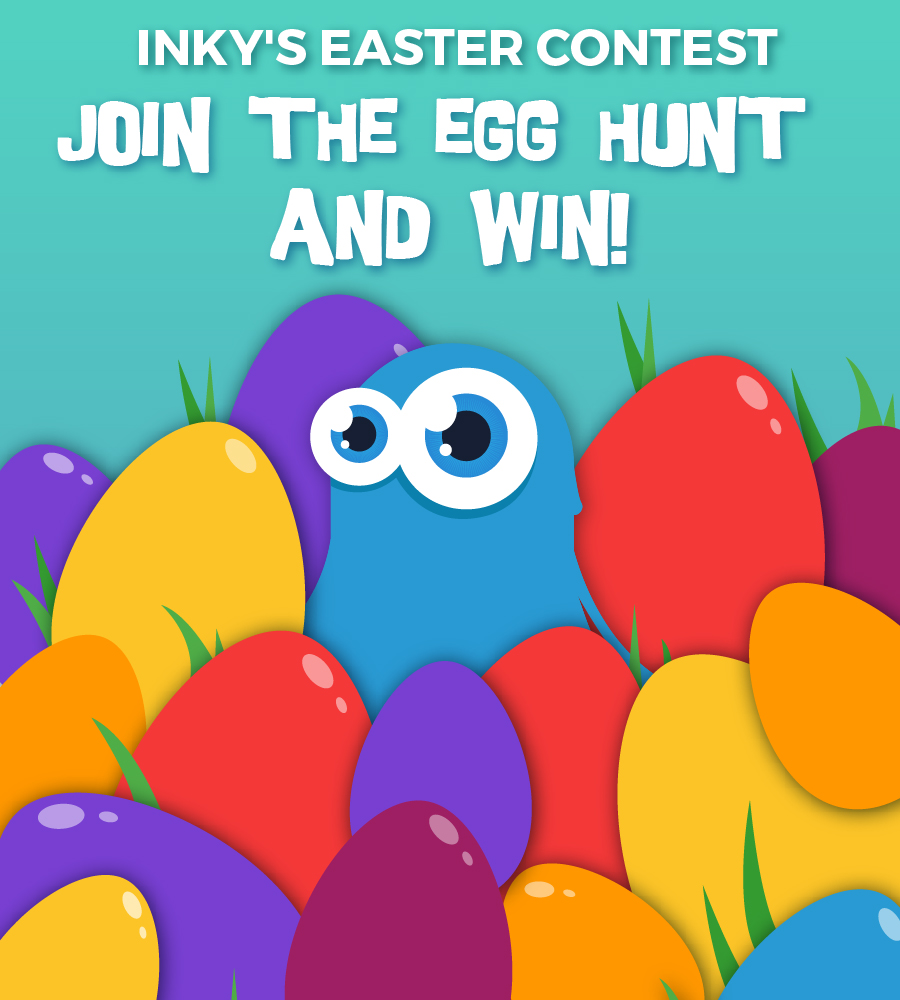 InkyDeals Easter Contest: Join the Egg Hunt and Win