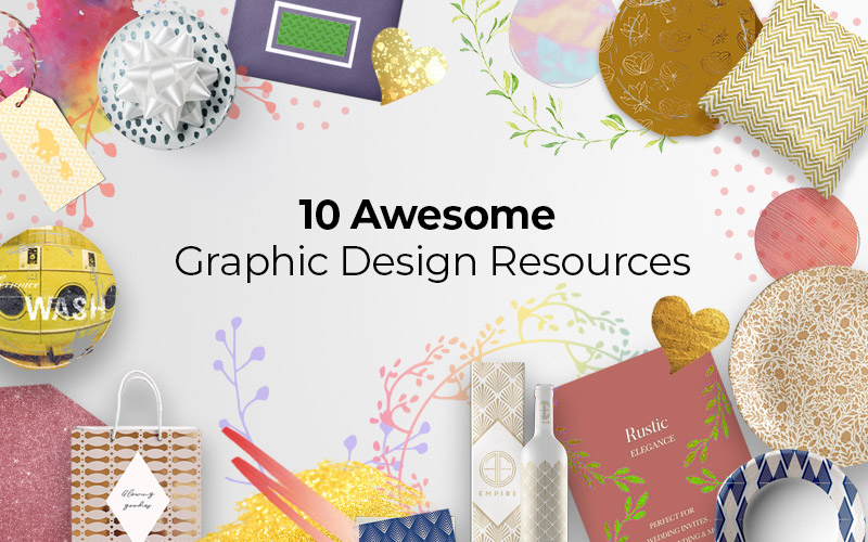 10 Awesome Graphic Design Resources to Add to Your Arsenal