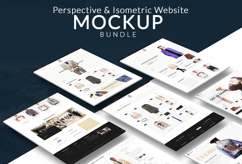 Business Mockups: 17 Exquisite Website-Mockup-Bundle