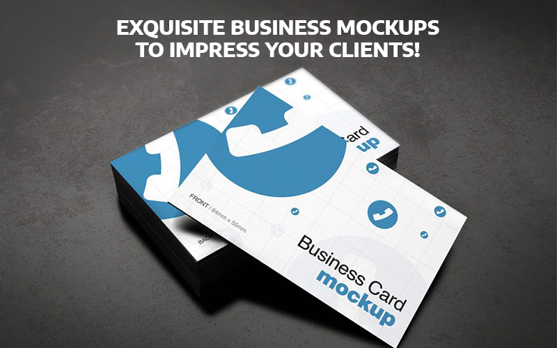 Exquisite Business Mockups To Impress Your Clients!